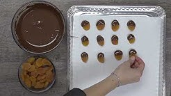 DIY: Chocolate - Dipped Apricots