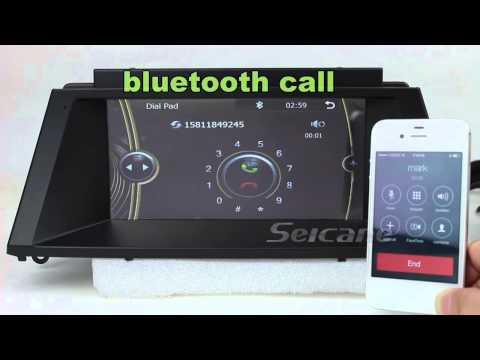 Best BMW X5 E70 iDrive navigation audio system rear view camera USB SD FM AM