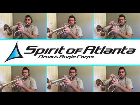 Georgia On My Mind | Spirit of Atlanta | Trumpet Multitrack | Antonio Cabrera