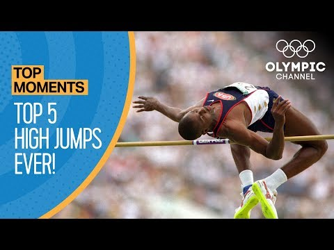 Top 5 Olympic High Jumps of All-Time!   Top Moments