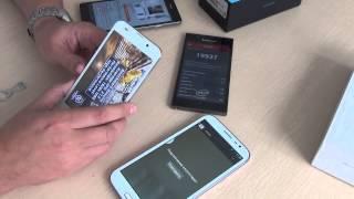 Обзоры из Китая на самые последние модели телефонов(В ролике упомянуты телефоны. Неплохие телефоны средней и высшей (китайской) ценовой категории, но с недоста..., 2014-02-07T09:49:38.000Z)