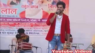 Khesari Lal Yadav Stage Programme on Bhakti Song In Meera Road Maharashtra