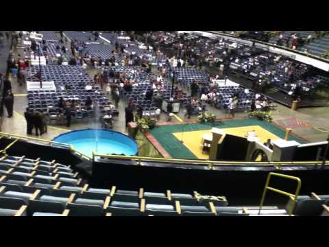 Inside View of Long Beach Arena,  2011 Assembly