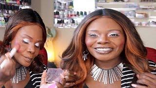 Makeup ASMR Chit Chat Apple Crunch