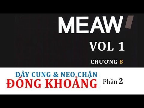 MEAW 1 - Chương 8 - Phần 2 Phương pháp đóng khoảng, Dây cung đóng khoảng và Neo chặn