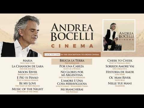 Andrea Bocelli  Cinema   Album Sampler