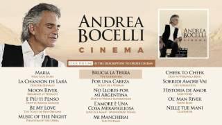 andrea bocelli cinema official album sampler