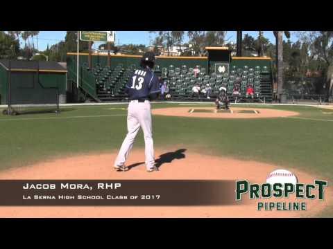 Jacob Mora Prospect Video, RHP, La Serna High School Class of 2017