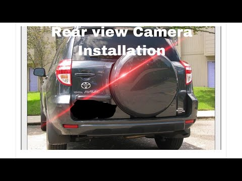 Installing a rear view camera in a 2010 rav4 on