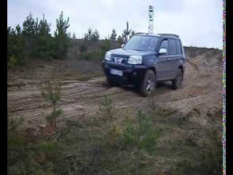 nissan xtrail offroad on sand youtube. Black Bedroom Furniture Sets. Home Design Ideas