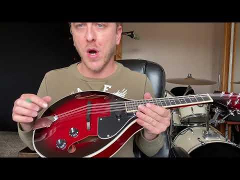 Unboxing Review: Vangoa Electric Mandolin