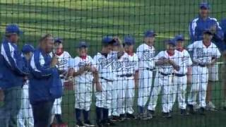 8u Lenz Field Warriors @ Corn Crib Player Introductions