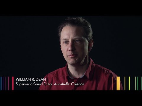 Technicolor's William R. Dean on the Sound of Annabelle: Creation