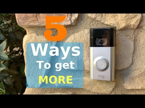 5 Tips To Get The Most Out Of Your Ring Video Doorbell