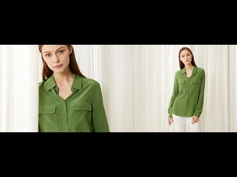 Womens Basic Silk Shirts & Blouse @LilySilk