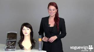 Fashion note, from the forever young wigs line, is a multi-layered flip out synthetic wig with skin top. soft, flowing hair extremely easy to style ri...