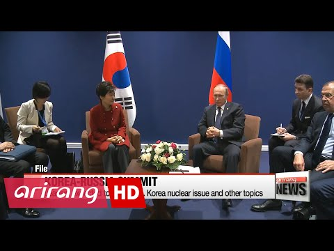Korea-Russia summit set for September on sidelines of EEF