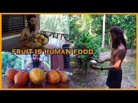 WHAT I EAT IN A DAY: TROPICAL FRUITARIAN HIGH CARB RAW VEGAN DIET