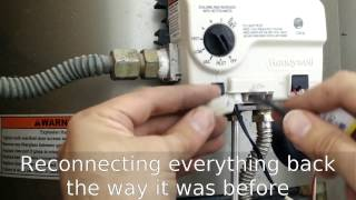 Water Heater Thermocouple Honeywell Replace