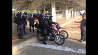 Treinamento Moto Ronda CCR Metrô Baihia