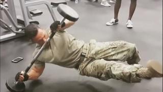 Тренировка морского пехотинца США