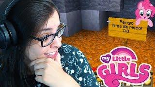 CUIDADO! ÁREA DE PERIGO PERTO DA MINHA CASA | Minecraft: MY LITTLE GIRLS #04