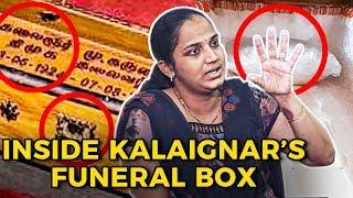 Kalaignar சவப்பெட்டியை உருவாக்கிய TENSION நொடிகள்! | Jyothi & Sandhya Reveals