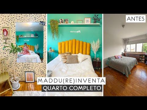 diy-transformando-quarto-completo-gastando-pouco!-#maddu(re)inventa-#decoração-#quarto