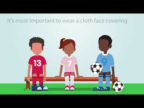 CDC:  Youth Sports: Tips to Protect Players from COVID-19  (PSA)