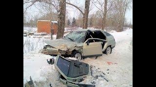 Зима Жуткие аварии ДТП 2017 Car Crash