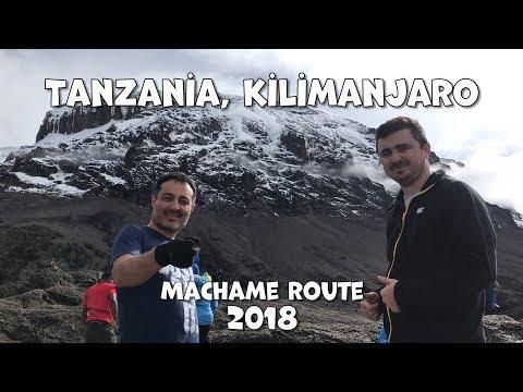 Kilimanjaro Machame Route March 2018