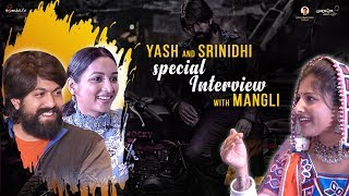#KGF Exclusive Interview | Yash and Srinidhi Shetty Special Interview with Mangli