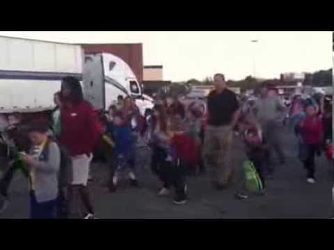 Andrew Johnson Elementary School - 2013 Walk to School Day Celebration