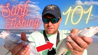 Surf Fishing Florida! How to Surf Fish. Beginners Surf Fishing Jacksonville Florida. FLORIDA FISHING