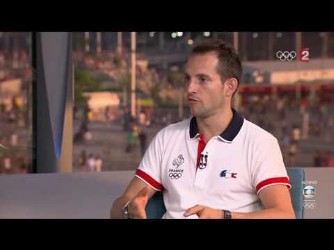 Athlétisme: Renaud Lavillenie s'explique à la télévision brésilienne