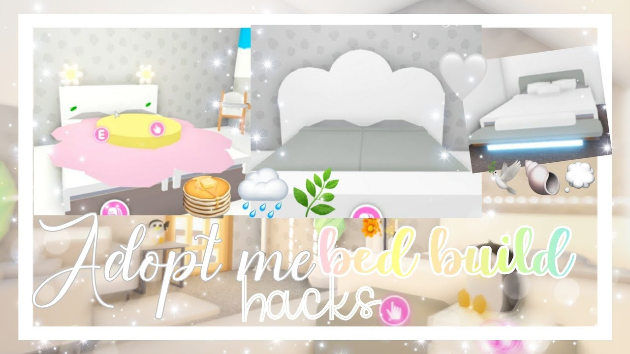 Adopt Me Bed Hacks Adopt Me Build Hacks Official Pineapples Youtube
