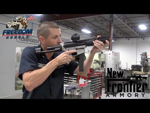 New Frontier 9MM AR-15 SBR with MVB ARC Stock!