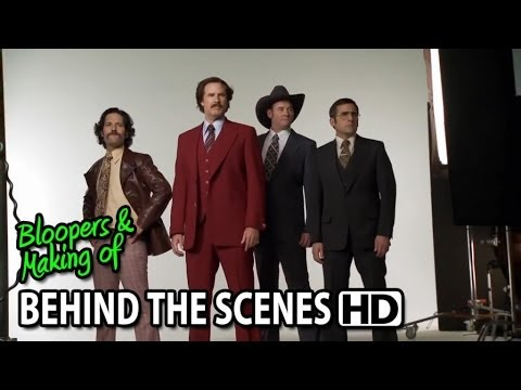 Anchorman 2 The Legend Continues 2013 Making Of Behind The Scenes Part1 3 Youtube