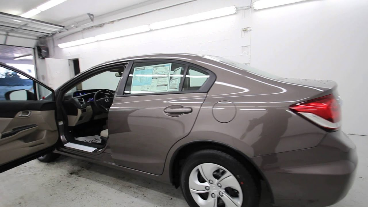 Alabaster Color 2015 Honda Civic Lx Urban Titanium Metallic Fh511605