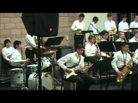 Kenilworth Junior High School Jazz Band Performs at the CMEA Festival