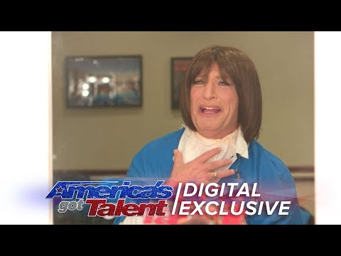 Howie Mandel Becomes Harriet The AGT Crew Member - America's Got Talent 2017