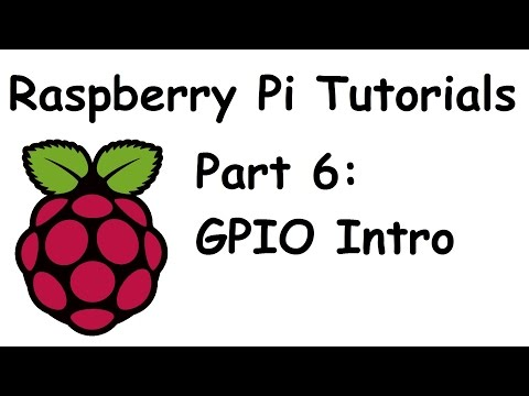 GPIO Basics with LED light - Raspberry Pi and Python tutorials p.6