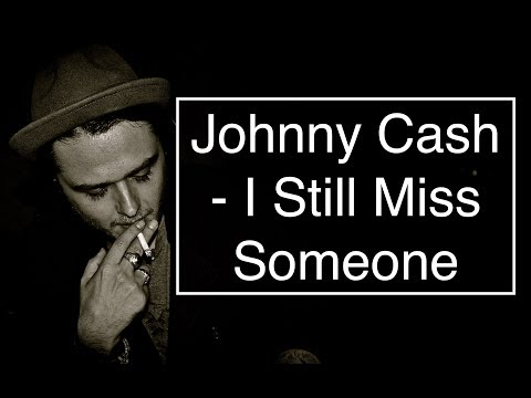 Johnny Cash - I Still Miss Someone [Guitar Tuto/Lesson/Cover With CHORDS]