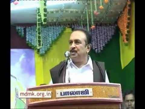 Vaiko speech at Poolithevar & Thevar Thirumahanaar birthday celebration event