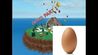 the egg head (thankfully) adventure Roblox PART 1.