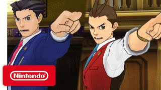 Phoenix Wright: Ace Attorney - Spirit of Justice Launch Trailer