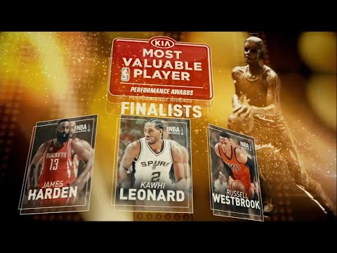 2017 NBA Awards: Kia MVP Finalists
