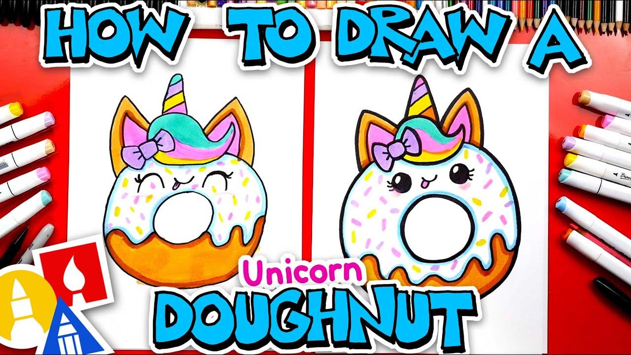 Download How To Draw A Cute Unicorn Doughnut