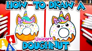 How To Draw A Cขte Unicorn Doughnut