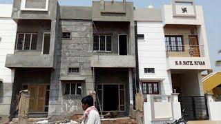 18 × 40 East face duplex house plan walk through